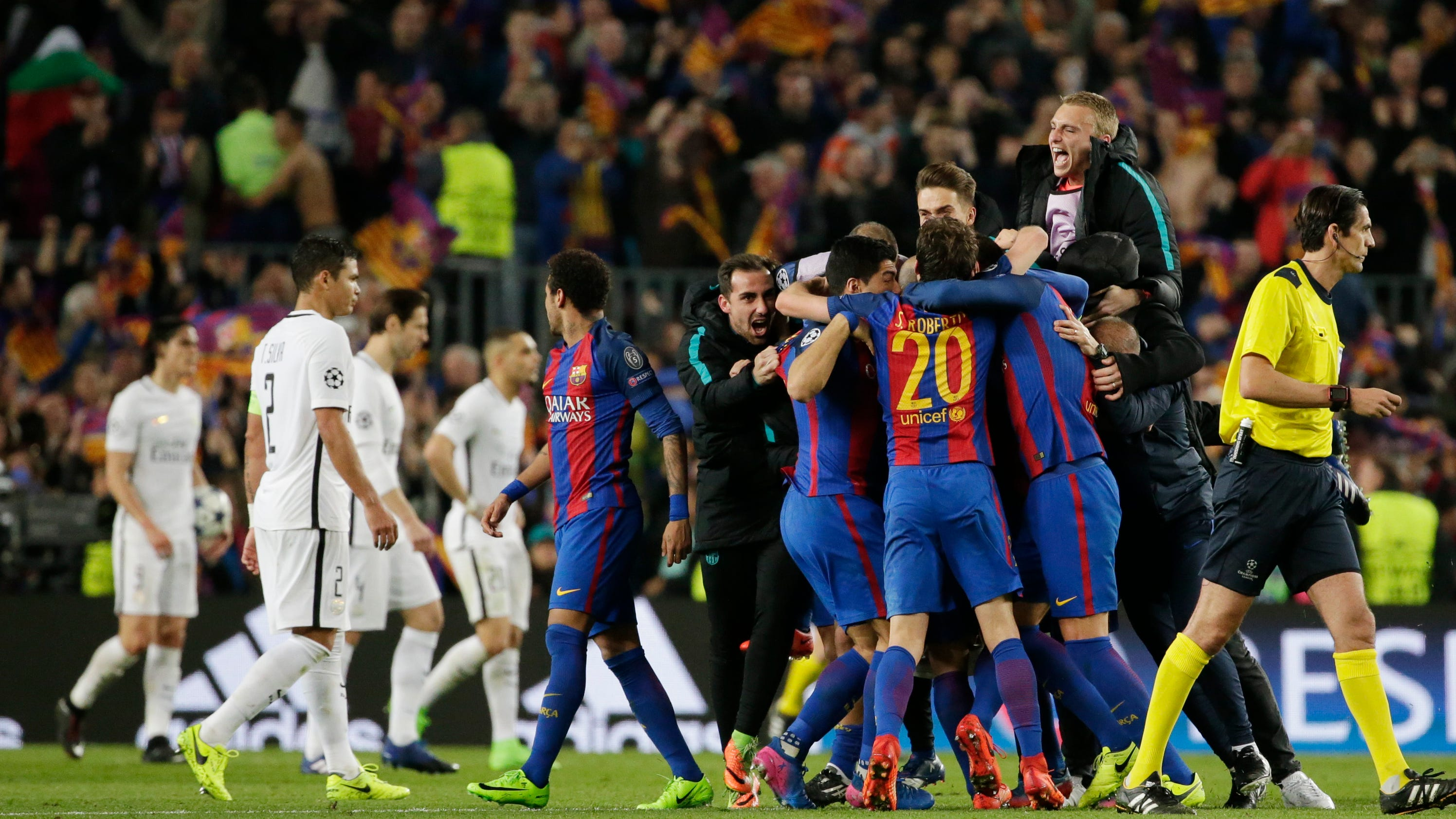 Uefa charges barcelona for fans running onto field - Firefly barcelona ...