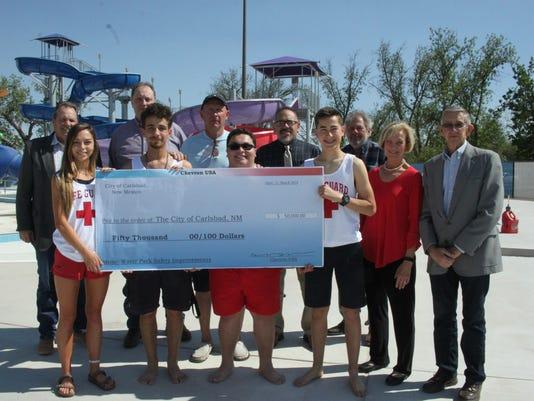 Carlsbad water park donation
