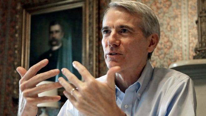 Sen. Rob Portman, R-Ohio, shown in an October interview, said Monday he will not run for president in 2016.