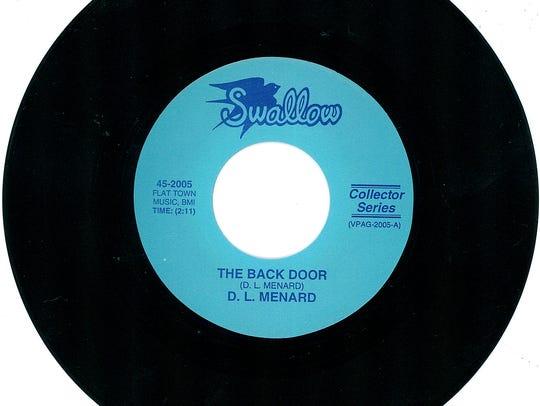 """D. L. Menard's signature song, """"The Back Door,"""" was"""
