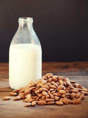 Nut-flavored beverages are frequently labeled as milk.