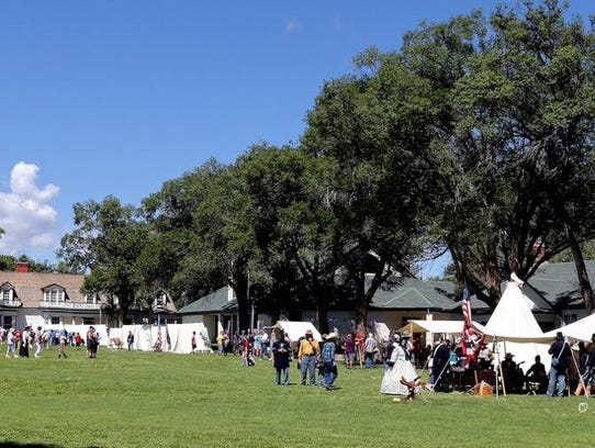 Admission to Fort Stanton Live is a $5 donation for