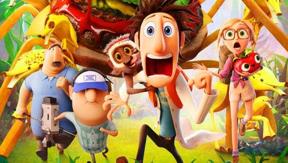 """A scene from """"Cloudy with a Chance of Meatballs 2."""""""