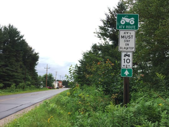 Many communities in central and northern Wisconsin have designated public roadways for off-road vehicle use. Safety advocates warn that about half of all deaths on all-terrain vehicles now occur on roads Ñ even those designated as ATV routes.