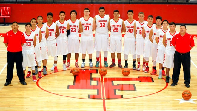 The Loving boys basketball team will be the No. 12 seed in the 2016 U.S. Bank 3A boys state basketball tournament. The Falcons will play in the first round at fifth-seeded Santa Rosa at 6 p.m. Saturday.