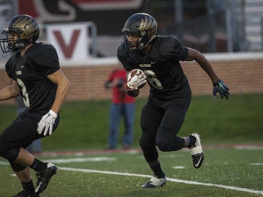 Winchester's Kiante Enis put up some huge numbers in his high school career.