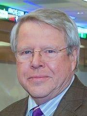 Elmira College Board of Trustees Chairman Robert Morris.