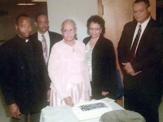 Osuagwu with Rene family
