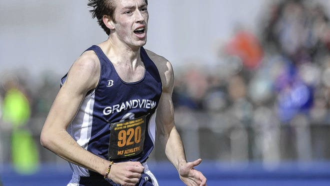 Senior Derek Amicon returns to lead the Grandview Heights boys cross country team after winning the Division III state championship last season.