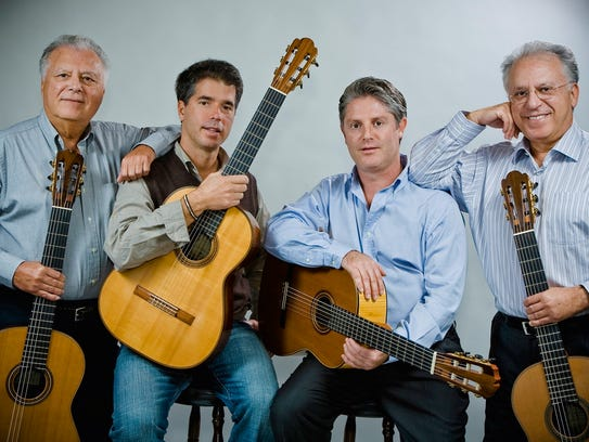 """The Royal Family of the Guitar,"" the Romeros."