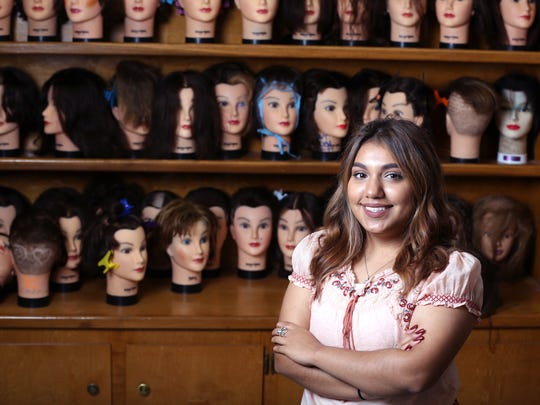 Robstown High School student Nicki Rae Pena was named as a  Caller-Times/Citgo Distinguished Scholar in the category of achiever. Despite personal challenges, she hasn't given up on school and is enrolled in cosmetology classes.