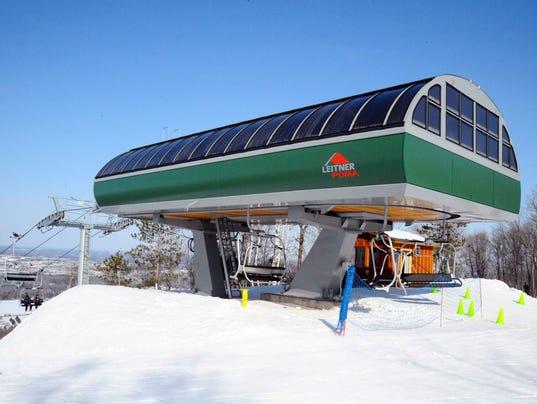 Dasher lift at Granite Peak Ski Area