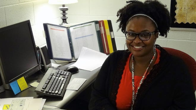 Samantha Chatman starts her first day as principal at Taft Elementary School a feat she says she is immensely proud of.