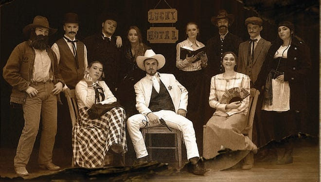 """""""The Treasure of Shiver RIver,"""" featuring a cast of 12 high school students, takes the stage Monday, May 22."""
