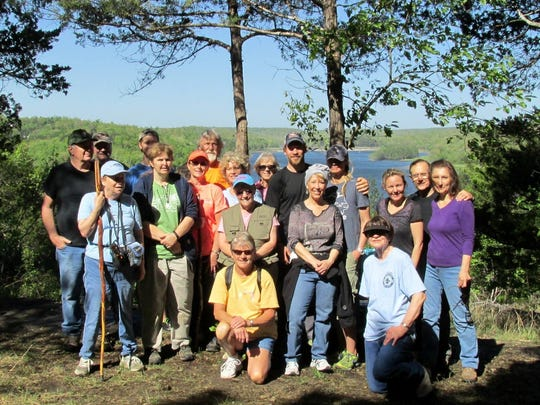 """A look at the group that took part in the inaugural """"Take a Hike"""" series sponsored by Nature's Way."""