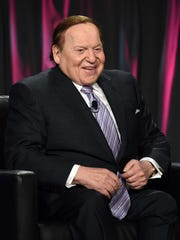 Sands Corp. Chairman and CEO Sheldon Adelson speaks