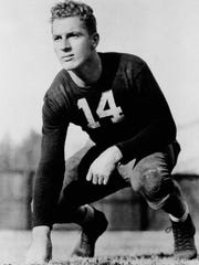 Before he starred for the Green Bay Packers, Don Hutson led Alabama to a 10-0 record in 1934.