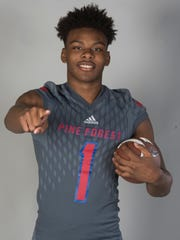 DB All-Area Martin Emerson Pine Forest High School