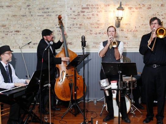 The Low-Down Sires provided live music for Asheville