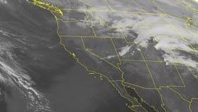 NOAA satellite image taken Monday, Nov. 10, 2014.