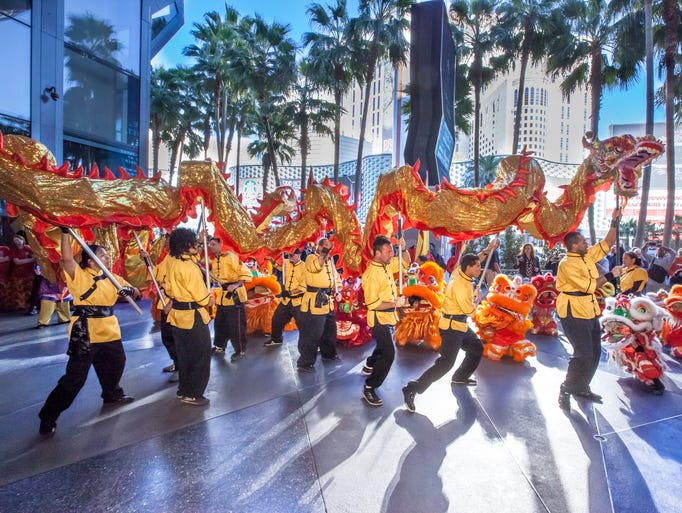 Las Vegas goes all out for Chinese New Year, with festivities