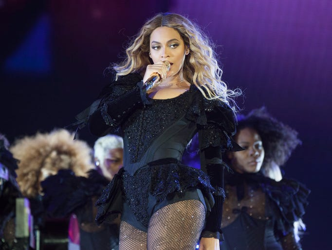 Beyonce performs during the Formation World Tour at