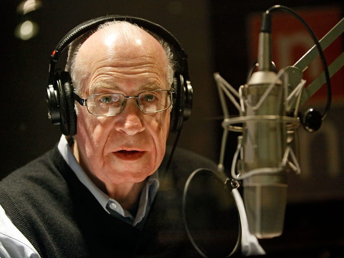 April 17, 2018: Carl Kassell, who spent nearly four