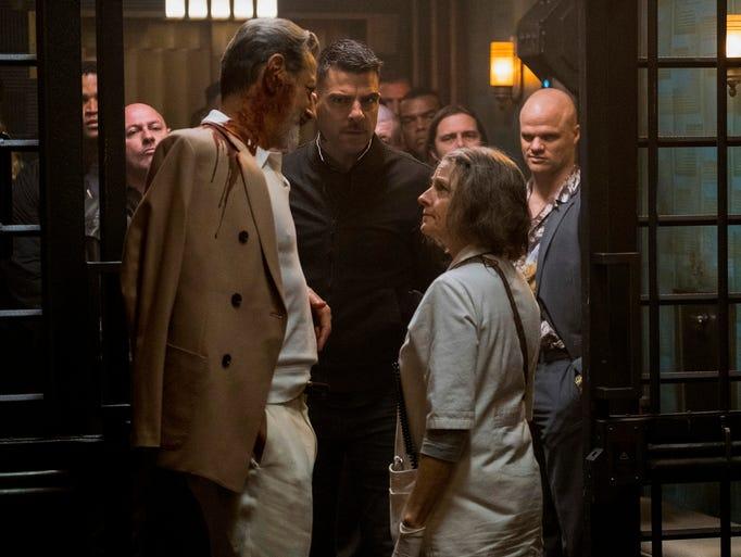 The Nurse (right, Jodie Foster) runs a secret emergency