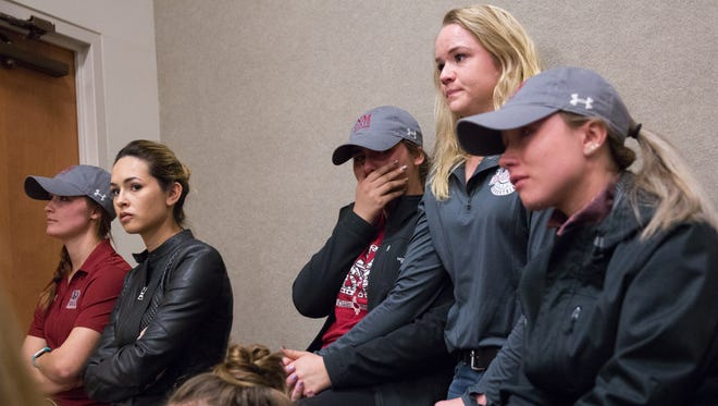 The NMSU Equestiran team was eliminated as a cost saving measure last year. NMSU athletics posted a balanced budget for 2017, but the athletic department is now down to the minimum number of sports for Division I status.