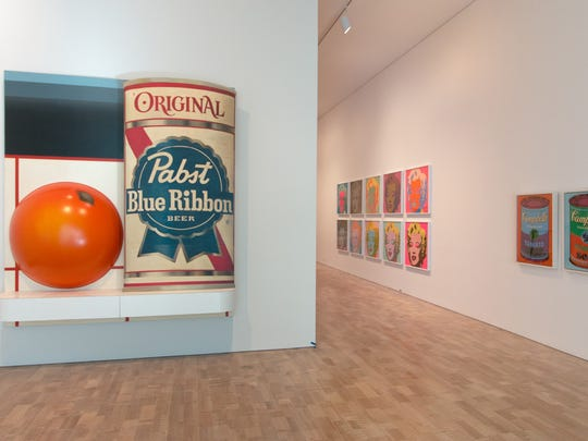 """Modern and contemporary art gets a chance to shine in the revamped, roomy Milwaukee Art Museum. At left is the 1964 """"Still Life #51"""" by Tom Wesselmann."""
