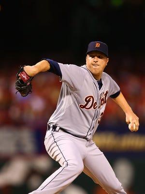Tigers pitcher Tom Gorzelanny