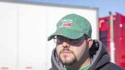 Kyle Coulter, 28, is training to drive for Knight Transportation