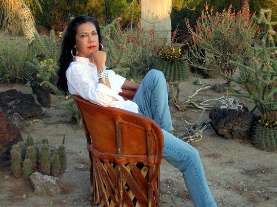 Ana Castillo says it was difficult writing about personal