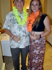 Marine Bank & Trust CEO Bill Penney with daughter Sammie