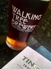 Tin Fish in Tradition has a nice craft beer selection spotlighting brews from local breweries including Vero Beach's very own Walking Tree Brewery and Sailfish Brewery from Fort Pierce.