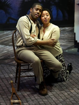 "Cincinnati Opera will present Gershwin's ""Porgy and Bess"" in its 2019 season. The company's 2012 production is shown here."