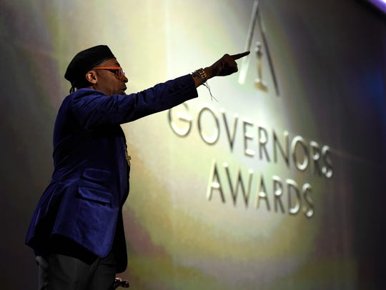Spike Lee, a 2015 honorary Oscar recipient,has said