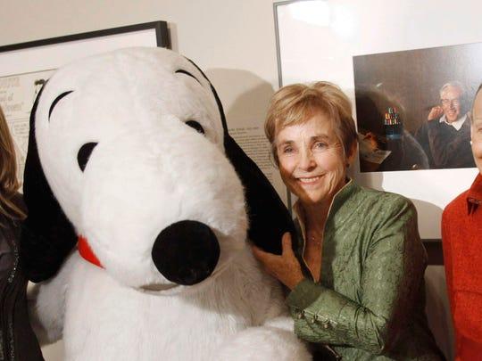 'Peanuts' creator Charles Schulz' widow, Jean Schulz,