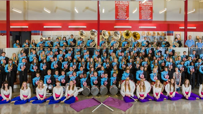 The Glendale High School band program recently celebrated selections to regional and state bands.