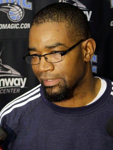 Otis Smith is coaching in the NBA D-League, a long