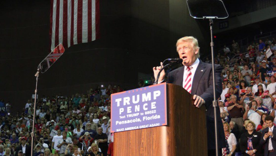 BLOG RECAP: Donald Trump Pensacola Rally