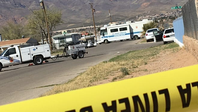 Police are investigating a shooting Tuesday morning in Northeast El Paso.