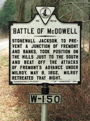 McDowell Battlefield in Highland County was one of three places to receive grant funding through the National Park Service's American Battlefield Protection Program. The Highland County battlefield was one of three that were awarded more than $270,000 in federal grants to help protect and preserve almost 200 acres of Civil War battlefields across the state.