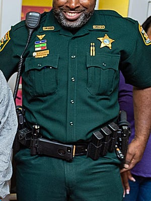 St. Johns County Sheriff's Office Sgt. Napolian Staggers.