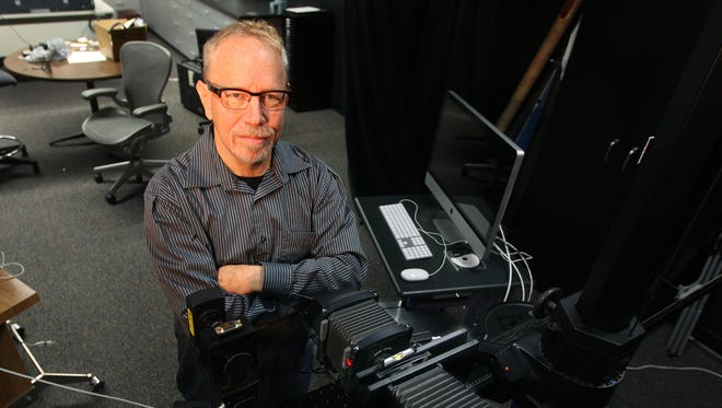 Roy Berns is a professor at Rochester Institute of Technology who invented a camera system for digital archiving.