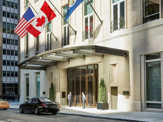 Four Seasons Hotel New York Downtown Has Made The Aaa
