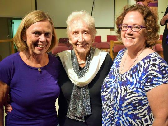 Barbara Gohl, June Flack and Tori Blackhart