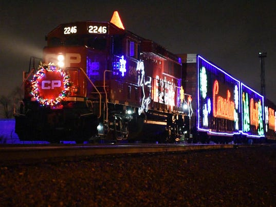 AP HOLIDAY TRAIN A USA MI