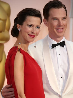 Sophie Hunter and her husband Benedict Cumberbatch