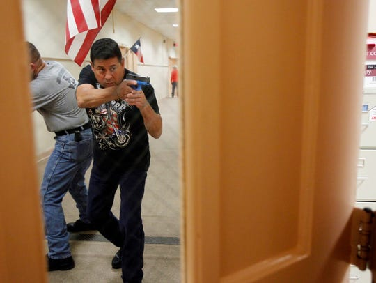 Sgt. Andres Vega, a CCISD officer from Moody High School,